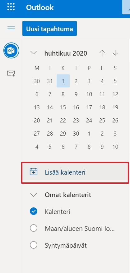 Outlook Sähköposti Ohjeet